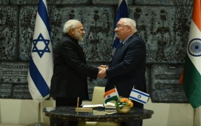 I for I: India stands with Israel, says Modi during the meeting with Prez Rivlin