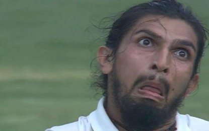 Ishant Sharma opens his joke with Steve Smith during the India-Australia series