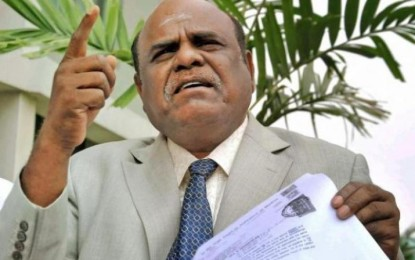 Judge CS Karnan, former jail judge, first at the door of the new Prez to ask for mercy