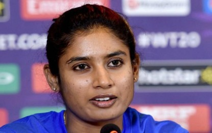 "Mithali Raj insinuates ""huge gap"" between the int'l, female domestic cricket"