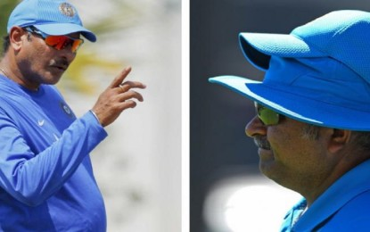 Ravi Shastri kicks Bharat Arun for the bowling coach after Sourav chooses Zak