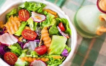 Here are the health benefits of eating salads