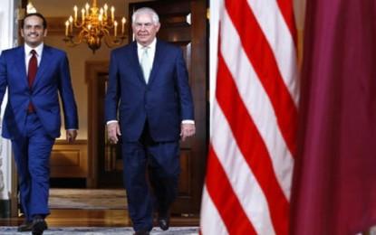 US warns Qatar crisis in deadlock; Tillerson to Visit Kuwait