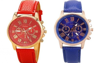 DaZon presents design watches for women