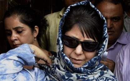 "Mirwaiz and Mehbooba Mufti welcome PM to ""embrace the people of Kashmir"""