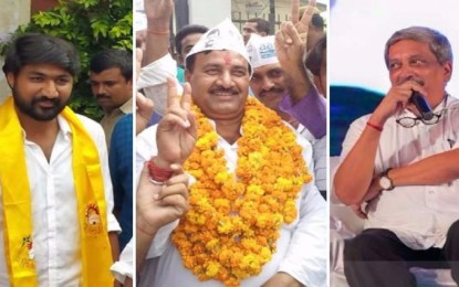 Bypolls: TDP wins Nandyal, AAP retains Bawana seat; Parrikar grabs Panaji
