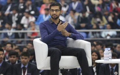 Google CEO Pichai cancels 'city hall' over gender dispute