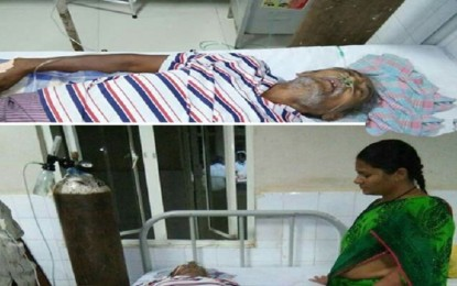 This patient almost died due to the Chandrababu convoy