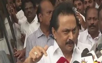 DMK will meet tomorrow with Prez as Guv refuses to intervene in the AIADMK policy