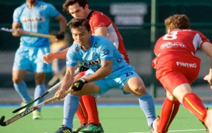 India loses its second consecutive game in the European tour, low 1-3 in Belgium