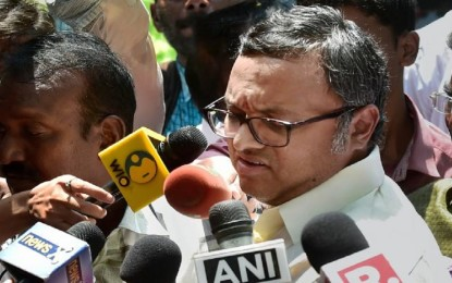 Karti Chidambaram moves Madras HC against 'look out'