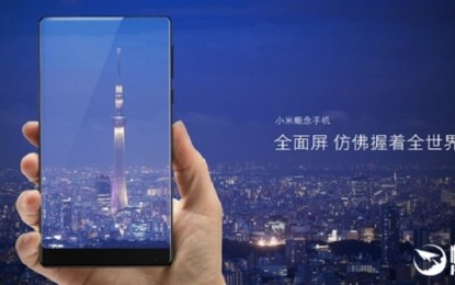 My Xiaomi Mix 2 confirmed for the September 11 release