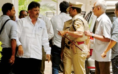 I have not violated the law, says the minister of Karnataka Shivakumar in IT incursions