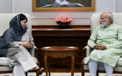 PM said not to fiddle with Article 370, says J & K CM Mehbooba Mufti