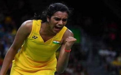 PV Sindhu: A Golden Plated Coating for India