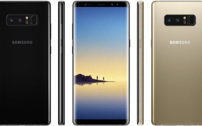 6GB RAM, Exynos 8895 confirmed for Samsung Galaxy Note 8