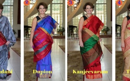 SareeSearch: US Ambassador In India wants your help deciding I-Day saree