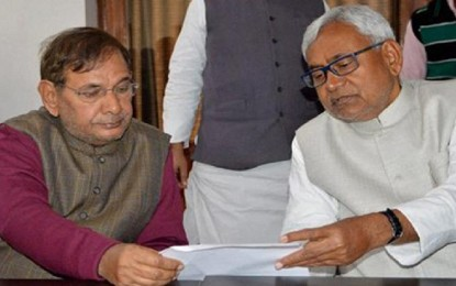Sharad Yadav free to make his own decision: Nitish Kumar in the row of the alliance