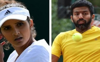 Cincinnati Open: Sania Mirza, Rohan Bopanna crash to end India campaign