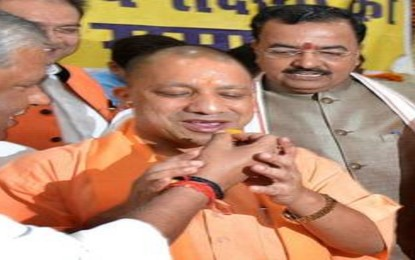 Chief Minister Adityanath takes oath as legislator