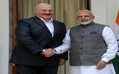 India and Belarus sign 10 covenants to expand cooperation