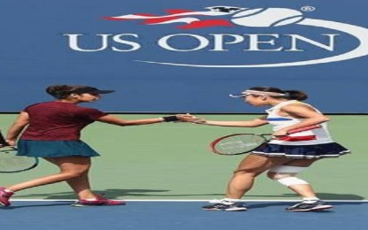Sania and Peng reach the semifinals of the US Open