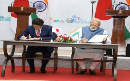 Japan and India to deal jointly with North Korea: Shinzo Abe