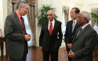 An official of Indian origin appointed Acting President of Singapore