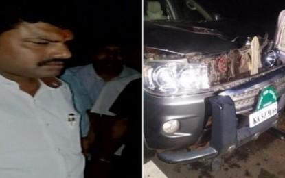 Karnataka: 24-year-old dies after SUV Yeddyurappa's son runs on him