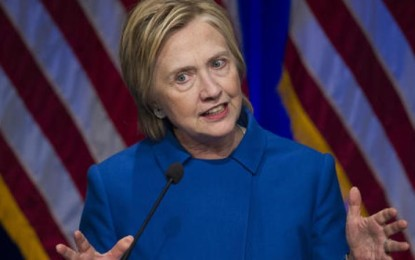 Hillary Clinton on Trump 'bombshell' tape