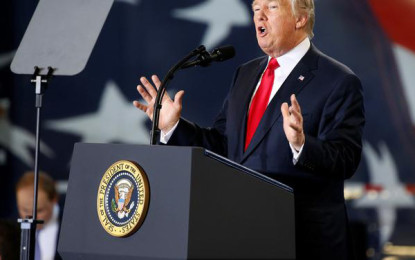 Trump pitches for tax reform to boost economy