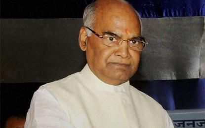 President Ram Nath Kovind to visit Assam, Arunachal, Manipur