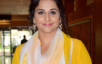 We should name and shame sexual harassers, says Vidya Balan