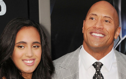 The Rock's daughter Simone Garcia is 2018 Golden Globe Ambassador
