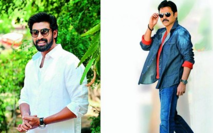 Rana Daggubati, Venkatesh to team up for web series
