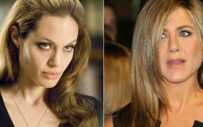 Angelina Jolie ignores Jennifer Aniston at the Golden Globes