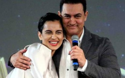 Kangana Ranaut seeking help from Aamir Khan?