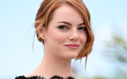 A message behind Emma Stone's look