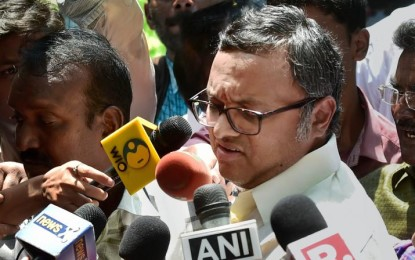 Karti Chidambaram Appears Before Enforcement Directorate
