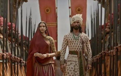 Padmaavat has thunderous opening weekend, storms into 100-crore club