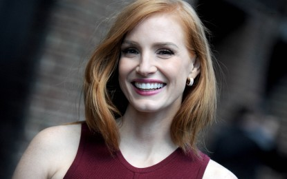 Major change is coming in Hollywood, says Jessica Chastain