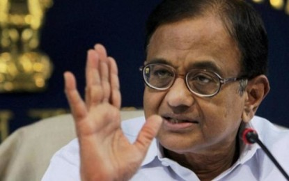 P Chidambaram blames Modi govt for economic slug in 2017-18