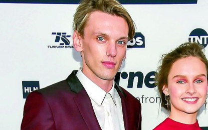 Lily Collins and Jamie Campbell Bower dating again?
