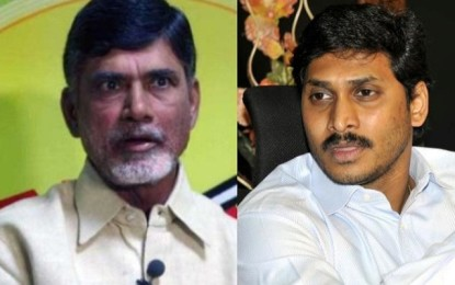 Naidu, Jagan Out To Conquer Each Other's Forts!