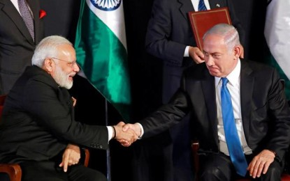 India-Israel venture into less explored areas of cooperation