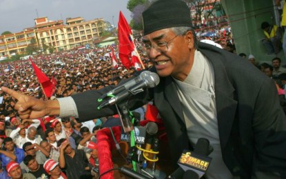 Nepal PM Deuba resigns, K P Sharma sworn-in second time