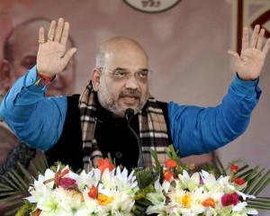 Amit Shah guarantees end of corruption