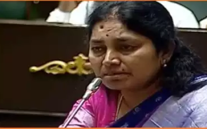 Aleru Mla Gongidi Suntiha Mahender Reddy Cries Assembly While Speaking About Dialysis Patients Problems