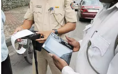 Tractor Driver Fined Rs 59,000 For Violating 10 Traffic Rules In Gurugram