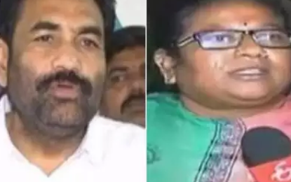 Women Mpdp Threatened By Nellore Rural Mla Kotamreddy, Police Booked Case